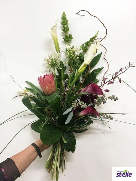 bouquet longue tige