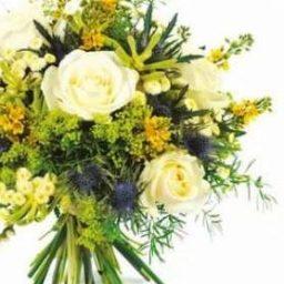 Bouquet rond flou