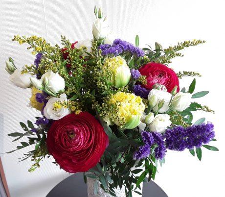 Bouquet style champêtre