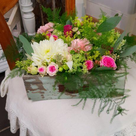 Composition fleurs coupées hautes