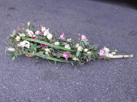dessus de cercueil champêtre et élégant