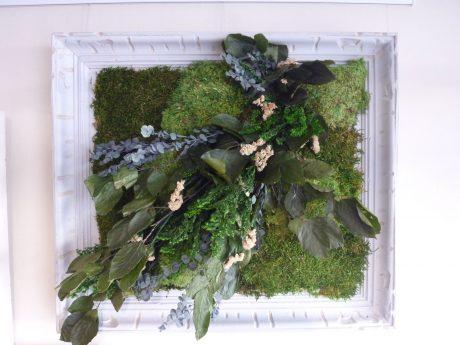 tableau en végétaux stabilisés