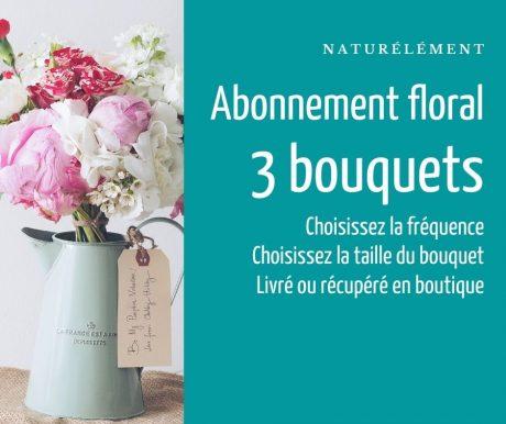 Abonnement 3 bouquets